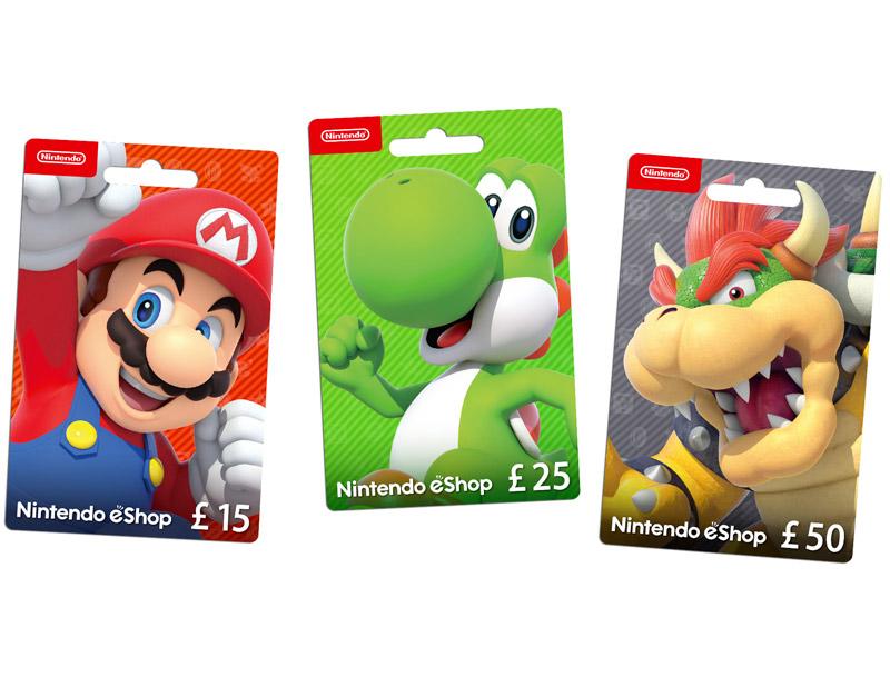 Nintendo eShop Gift Card, Issa Vibe Games, issavibegames.com